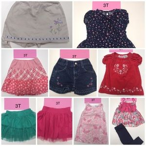 Other - Lot bundle summer clothes Girl 3T